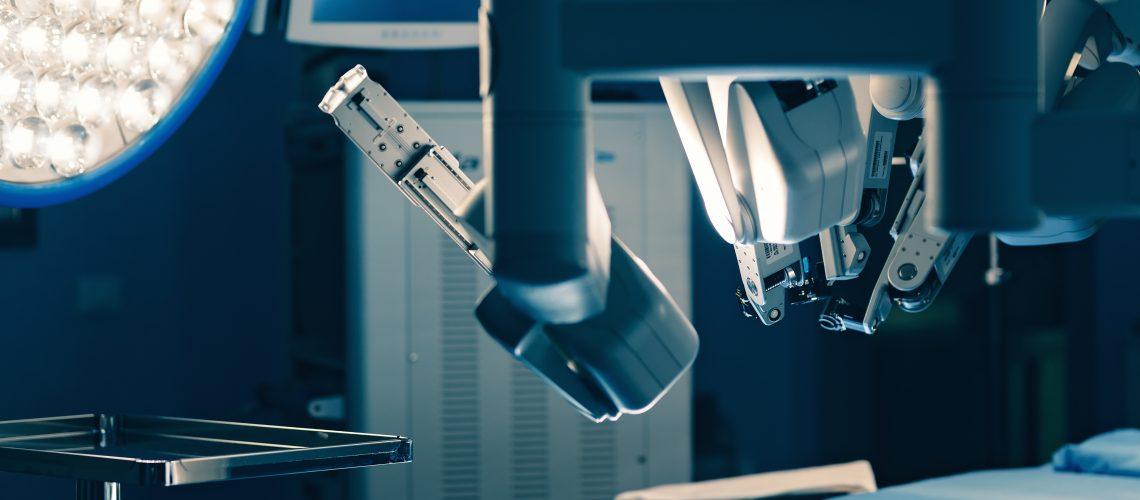 robot para próstata cirurgia da vinci de
